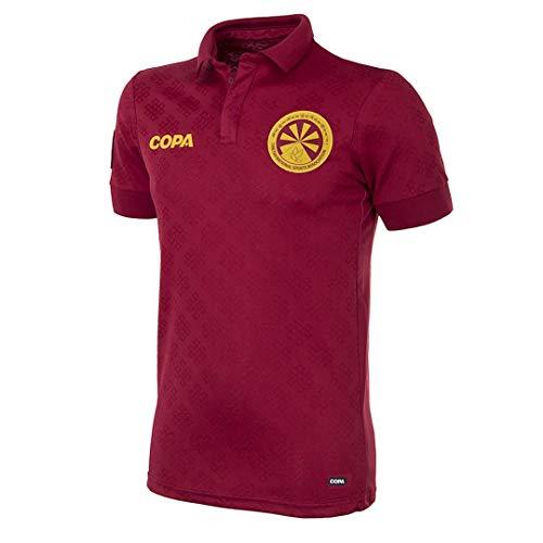Copa Camiseta de Cuello para Hombre Tibet Away, Hombre, Camiseta Cuello, 9126, Rojo, XXL