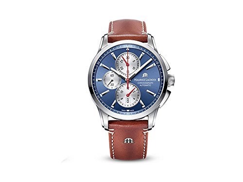Maurice Lacroix Pontos PT6388-SS001-430-2 Cronografo automatico uomo Cassa solida