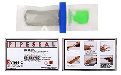 Pipeseal Pipe Repair Kit - Fully Cures in Minutes - Withstands 1200 psi