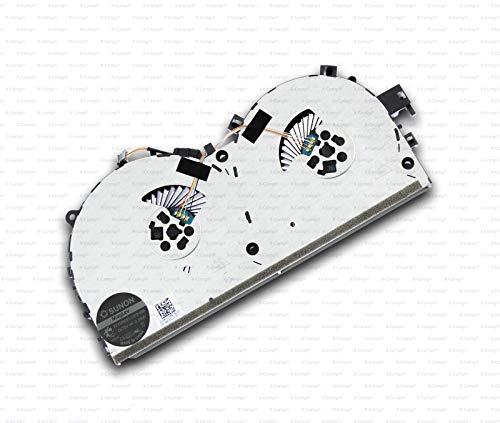 X-Comp Ventilador de CPU para Lenovo Legion Y520-15IKBN 80WK Serie EF75090S1-C060-S9A