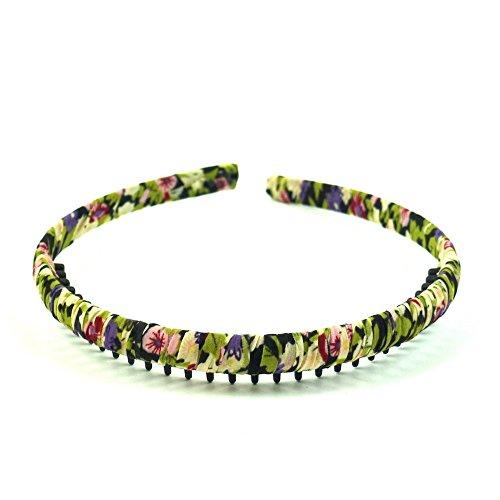 rougecaramel - Accessoires cheveux - Serre tête enfant avec dents - multicolore