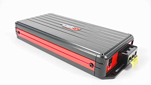 1-Channel 2400W HED Series Amplifier w//Bass Control Knob Cerwin-Vega HED H72400.1D