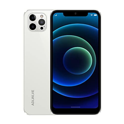 Smartphone Offerta del Giorno 4G, 6.3 HD+ Android 9.0 3GB RAM +32GB ROM 128GB Espandibili Cellulari Offerte 4600mAh Dual SIM Cellulari e Smartphone 8MP Fotocamera Face ID Telefonia Mobile (bianca)