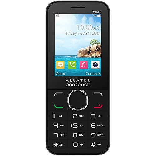 Alcatel 2045X One Touch Sim Free Mobile Phone - Black