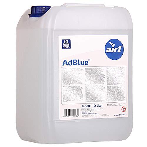 Yara Air1 AdBlue 10l Harnstofflösung mit Ausgießer Reduktion von Stickoxiden aus Abgasen im Kanister