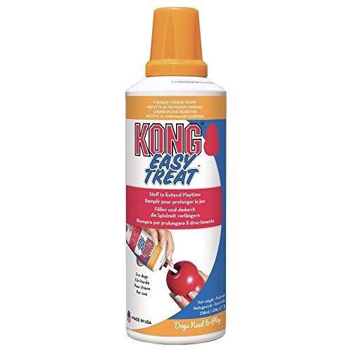 KONG - Easy Treat™ - Pasta de premio para perro - Queso cheddar - 8 onzas/227 gramos