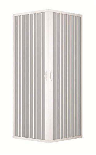 Box Doccia 70x70 in PVC MOD. Acquario con Apertura Centrale