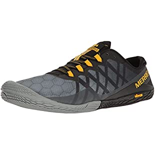 Merrell Men's Vapor Glove 3 Trail Running Shoes, Grey (Dark Grey), 8 UK:Downloadlagump3gratis
