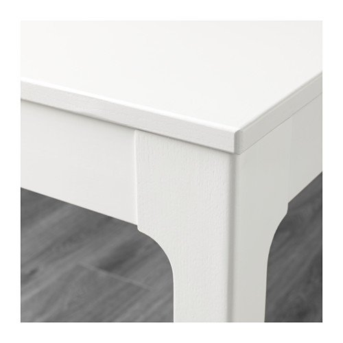 Unbekannt IKEA EKEDALEN Ausziehtisch in weiß; (80/120x70cm)