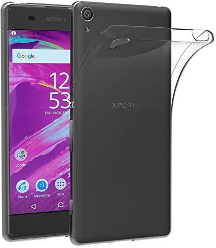 Sbuybay Soft Plain Flexible Transparent Back Case Cover for Sony Xperia XA/Sony Xperia XA Dual (F3112 / F3115 / F3116)