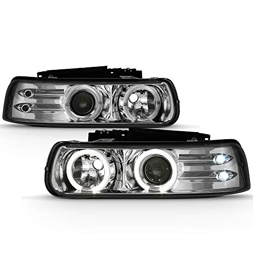 02 tahoe chrome headlights - 8