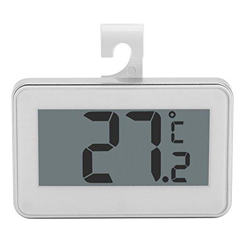 Zerodis Thermomètre de Réfrigérateur Numérique Thermomètre de Frigo Electronique Congélateur Affichage Instantané
