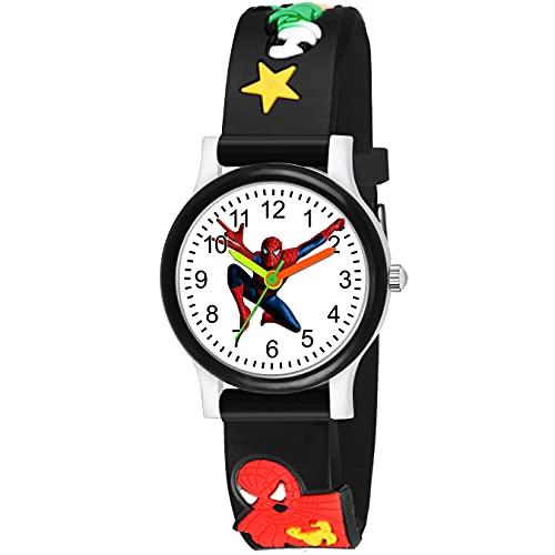 SWADESI STUFF Analogue Black Dial Boy's & Girl's Watch (Black Dial Black Colored Strap)