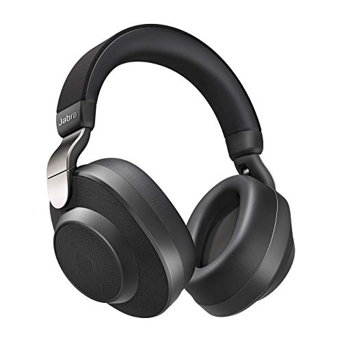 Jabra Elite 85H Titanium Bluetooth Koptelefoon, Active Noise Cancelling, Over Ear, Smartsound Technologie, Spraakbediening, Zwart
