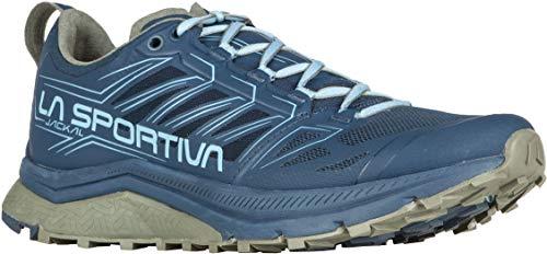 La Sportiva Jackal Trail Running Shoe - Women's Opal/Pacific Blue, 42.5