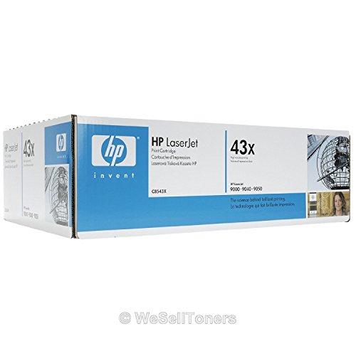 Genuine HP Toner for Laserjet 9000 Series, 9040mfp, 9050mfp - C8543X (High Yield, 30K) by HP