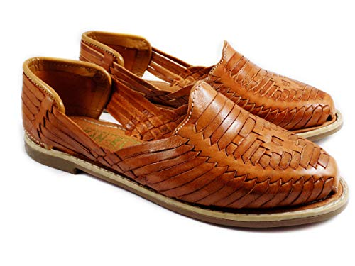 Mexican Huaraches Sandals Nut, for women.