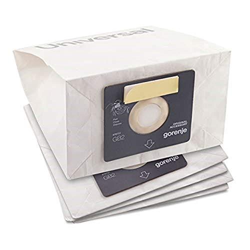 Gorenje Staubsaugerbeutel GB2PBU, 5 Beutel für alle Gorenje Staubsauger, 2,5 L