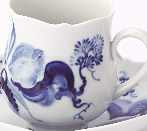 マイセン(MEISSEN)『ブルーオーキッドコーヒーカップ&ソーサー』