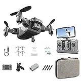Drone KY905 con telecamera video dal vivo Mini Quadricottero Pratico giocattolo pieghevole con...