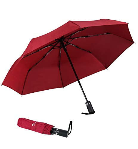 SY COMPACT Travel Umbrella Automatic Windproof...