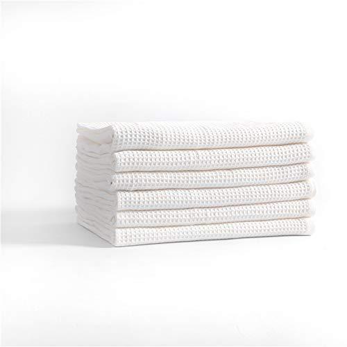 Casa de adultos con algodón puro toalla de gofres cuadrado toalla toalla de baño toalla super absorbente