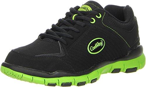 ConWay Damen Herren Trekkingschuhe Outdoorschuhe grün, Größe:38, Farbe:Grün
