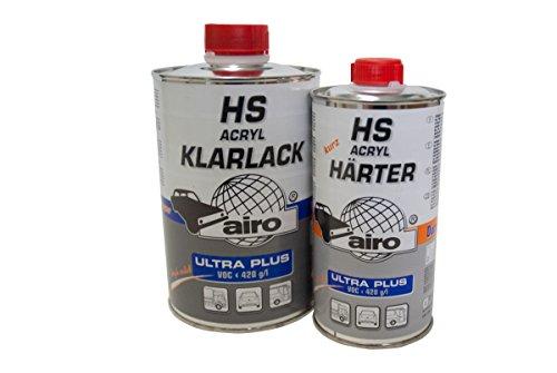 1,5 Liter Acryl-Klarlack HS Ultra Plus, Härter:lang