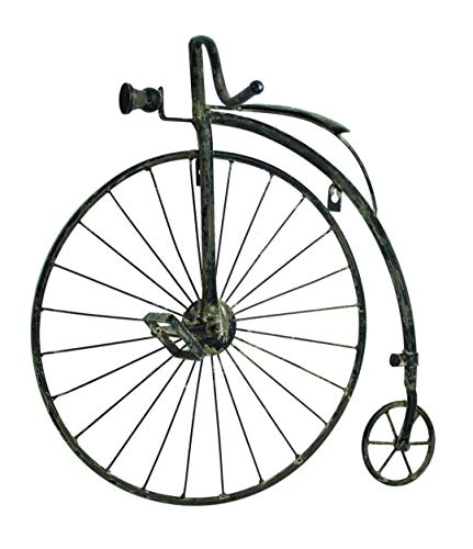 Magoo's 23' Antique Style High Wheel Bicycle Wall Art Bike Penny Farthing Wall Decor