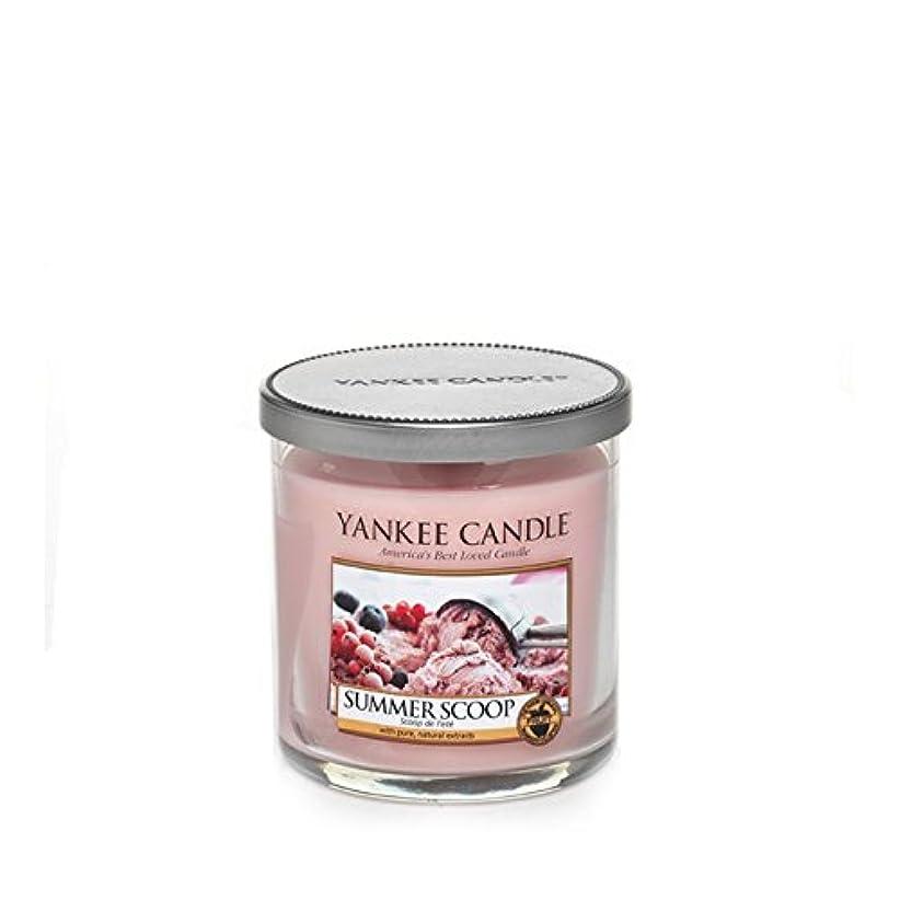液体賢い面白いヤンキーキャンドルの小さな柱キャンドル - 夏のスクープ - Yankee Candles Small Pillar Candle - Summer Scoop (Yankee Candles) [並行輸入品]