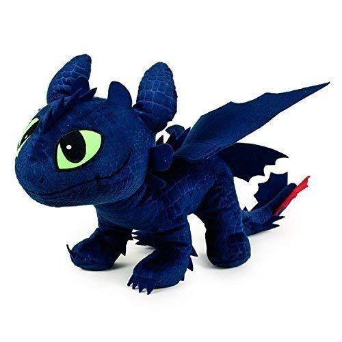Dreamworks Animation Enorme Peluche Dragons SDENTATO Furia Buia Gigante 60cm Originale Dragon Trainer