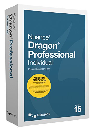 Dragon Professional Individual Education v15 français, french version