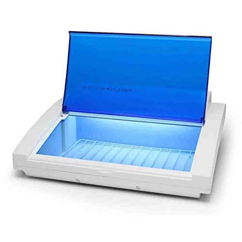 Stérilisateur D'ongle Machine dentaire 220v de stérilisation de ciseaux de spa de salon de manucure de désinfection UV de serviette