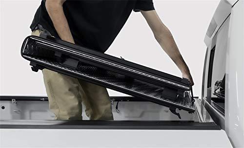 Lomax B1050019 Lomax Hard Tri-Fold Cover; Black Matte Finish;