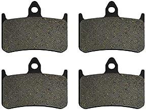 without brand XXF-SCP, For Honda CB1300 CB1300 X4 DC DCV DCW DCX DCY 1997 1998 1999 2000 Partes de Motos Delantera y Posterior Pastillas de Freno Kit (Color : 2 Pairs Front Pads)