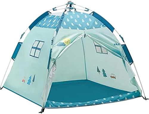 QPP-CL Zelte für Kinder Outdoor Pop Up Zelt, Tunnelzelte mit Aufbewahrungstasche, für Reisen Tragbare Faltbare Strandzelt Rucksack