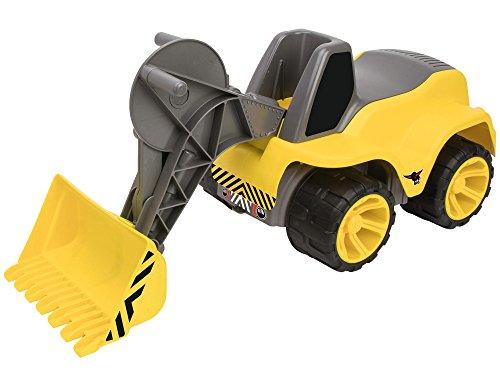 BIG - Power-Worker Maxi-Loader - Kinderfahrzeug, geeignet als Sandspielzeug und für das Kinderzimmer, Baggerfahrzeug zum Sitzen bis 50 kg, für Kinder ab 3 Jahren