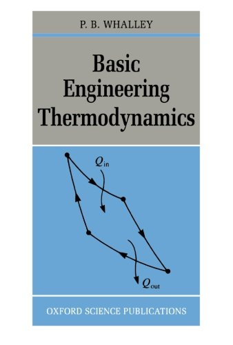 Basic Engineering Thermodynamics (Oxford Science Publications Monographs)