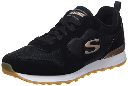 Skechers Women's Retros Og 85 Low-Top Sneakers, Black (Blk), 7 UK