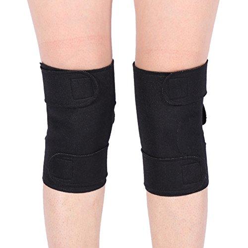 (un par) almohadillas automáticas para calentar las rodillas, terapia magnética a temperatura constante, cansancio calmante, deportes y baloncesto de fitness, para evitar la tensión, asequible