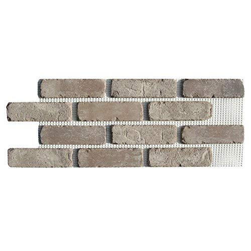 Brickwebb Thin Brick Sheets - Flats (Box of 5 Sheets) - Rushmore