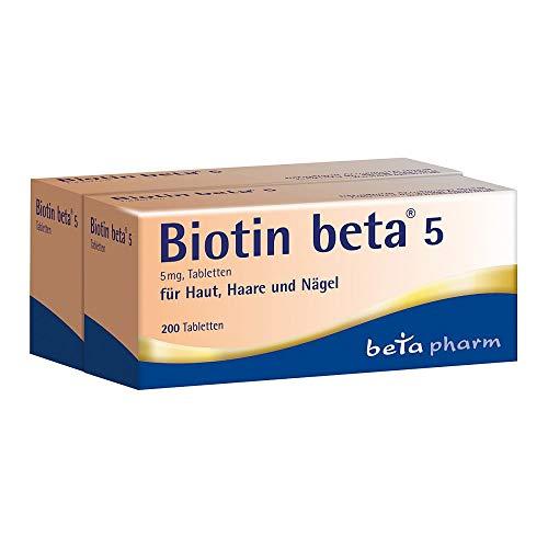 Biotin beta 5 Tabletten, 200 St. Tabletten