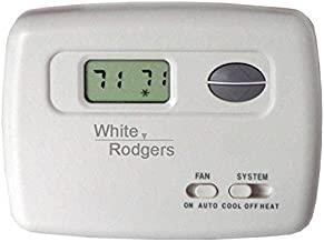 Digital Thermostat White Rodgers 1F78-144 70-Series Single Stage NonProgrammable