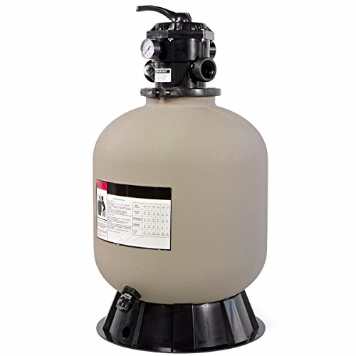 """XtremepowerUS 19"""" Above Inground Swimming Pool Sand Filter System 7-Way Multi-Port Valve Pool Filter up to 24,000 Gallons with Stand"""