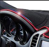 YHDNCG Cubierta de salpicadero Parasol Antideslizante Alfombrilla de salpicadero Alfombrilla Pegatinas de Coche Accesorios Interiores, para Toyota 86 GT86 FT86 12-18