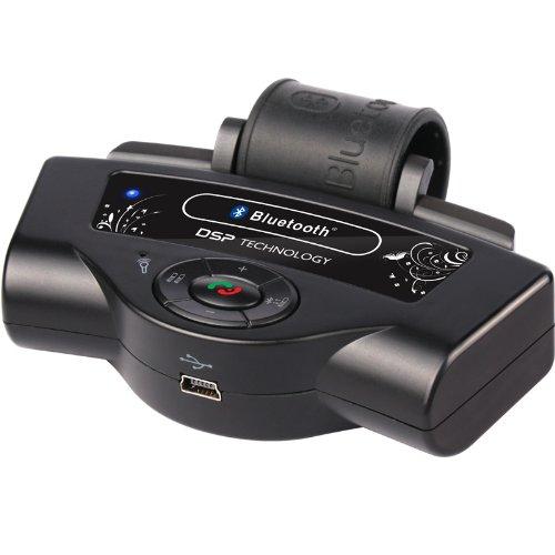 BESHP Kit mains libres Bluetooth pour volant de voiture avec microphone intégré
