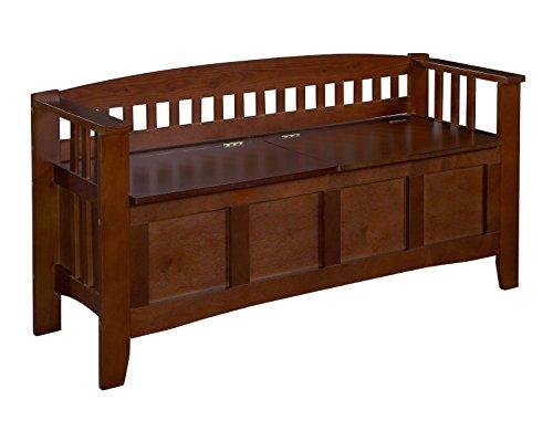 Premium Storage Bench Furniture Seat Patio Deck or Garden Seating in Wood Outdoor Design