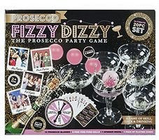 FIZZY DIZZY - Das Prosecco Partyspiel - ultimative 20-teiliges Set!