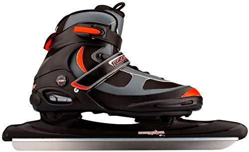 SCHREUDERS SPORT Inline Skate-Schuh Nijdam, weich, aus Polyamid, Unisex, 3423-ZAR-43, Black/Anthracite/Red, Gr. 43