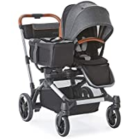 Contours Element 1-to-2 Side-By-Side Double Strollers